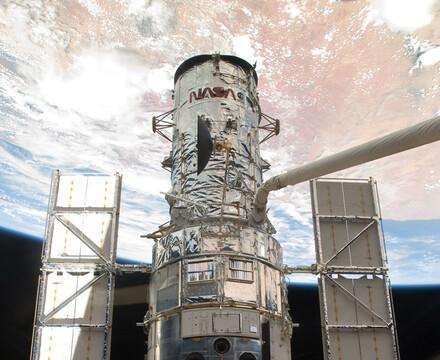 Hubble Space Telescope in IMAX movie Hubble