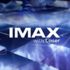 IMAX with Laser promotional graphic